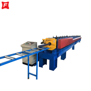 Hydraulic Cutting Round Downpipe Forming Machine