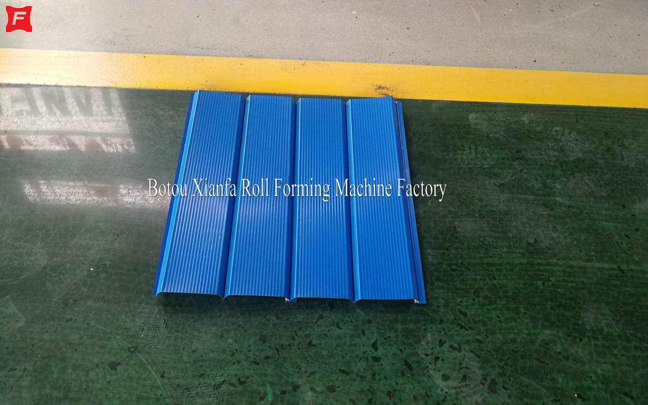 Wall Panel Siding Roll Forming Machine