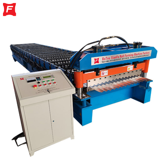 Thinner Galvanized Corrugated Forming Machine